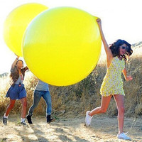 Round Clear Balloon Latex Balloons