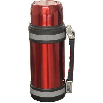 Brentwood Vacuum Stainless Steel Bottle With Handle (1.0 Liter)