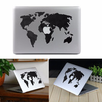 World Map Vinyl Decal Sticker Skin For MacBook Air/Pro Laptop