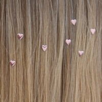 Heart Hair Charms