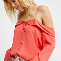 Free People Walk This Way Buttondown