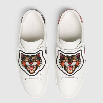 GUCCI Ace sneaker with removable patches