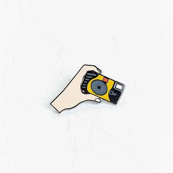 UO Artist Editions Winston Tseng Disposable Selfies Pin