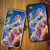 Thinkerbell Disney Castlle X0916 LG G2 G3, Nexus 4 5, Xperia Z2, iPhone 4S 5S 5C 6 6 Plus, iPod 4 5 Case