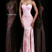 Sherri Hill Dress 9707 at Prom Dress Shop