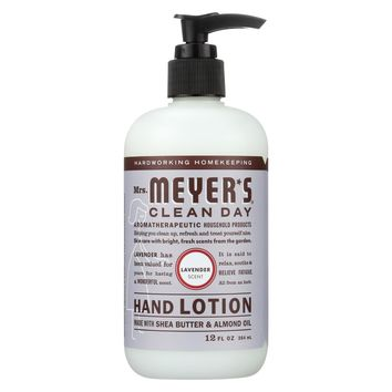 Mrs.meyers Clean Day Hand Lotion - Lavender - Case Of 6 - 12 Fl Oz