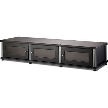 Synergy 65 Inch TV Stand Cabinet - 4 Finishes - Black Cherry Maple Walnut