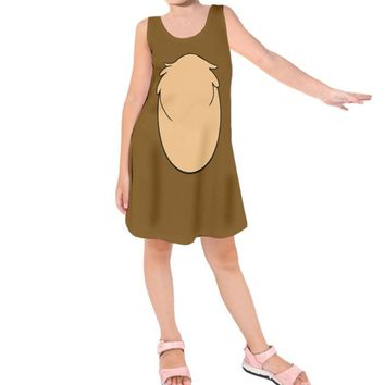 Kid's Chip Chip and Dale Inspired Sleeveless Dress