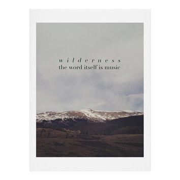 Leah Flores Wilderness Music Art Print