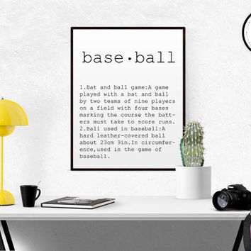 DEFINITION OF ARTISAN Funny Wall Art Gift For Baseball Player Funny Definition word definition Name Definition Typography Print Printable