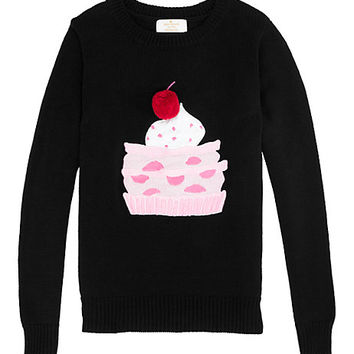 Kate Spade Toddlers' Pastry Sweater Black