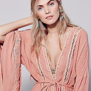 Free People Wood Creek Kimono