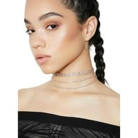 Fancy Affairs Layered Choker