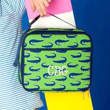Later Gator Monogrammed Lunch Box