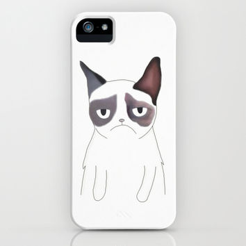 Grumpy Wish You Good Morning iPhone & iPod Case by Marvin Fly