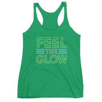 "Naomi ""Feel The Glow"" Women's Racerback Tank Top"
