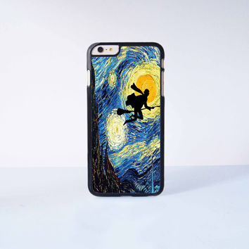 Harry Potter Stary Night Plastic Case Cover for Apple iPhone 6 Plus 4 4s 5 5s 5c 6
