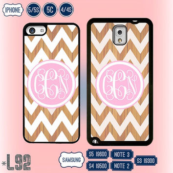 Wood Pattern Chevron Samsung Galaxy S5 case Samsung S4 cover Galaxy S3 Samsung Note 3 Note 2 , IPhone 5S , iPhone 5 , 5C , IPhone 4 4S L92