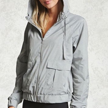 Active Mesh Hooded Jacket