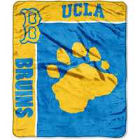 UCLA Bruins Plush Throw 50x60 Team Spirit