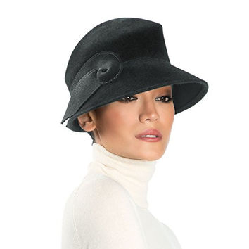 Eric Javits Women's Luxury Headwear Kendall Hat (Black)