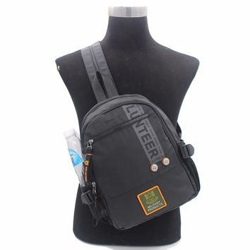 High Quality Waterproof Oxford Backpack Knapsack One Shoulder Messenger Chest Bag Laptop Kettle Travel Book Bags Rucksack New