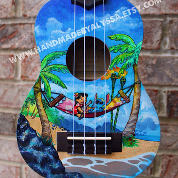 Custom Painted Ukulele