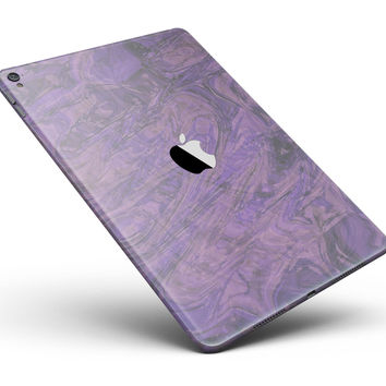 "Purple Slate Marble Surface V30 Full Body Skin for the iPad Pro (12.9"" or 9.7"" available)"