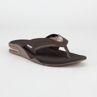 Reef Fanning Mens Sandals Brown Lux  In Sizes