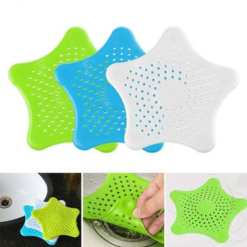 Star Shaped Suction Cup Sink Strainer
