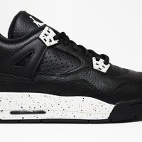 Air Jordan 4 Retro Oreo BG GS Basketball Shoes <>