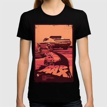 Mad Max T-shirt by Mike Wrobel | Society6