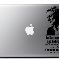 Rod Stewart Forever Young Laptop Decal 3.7 X 9 Inches
