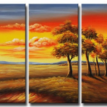 Transitions at Sundown Canvas Wall Art