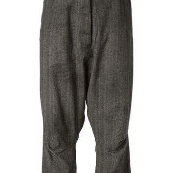 Rundholz dropped crotch tapered trousers