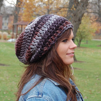 Chunky Slouchy Hat Cool Crochet Hats for Men