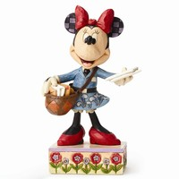 Jim Shore Mail Carrier Minnie Figurine