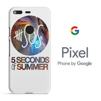 5SOS Nebula Cover Google Pixel Phone 3D Case