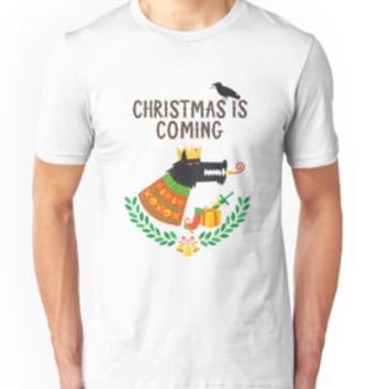 'Christmas is coming New' Classic T-Shirt by cantikkyky