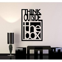 Vinyl Wall Decal Inspire Quote Motivation Office Team Art Decor Stickers Mural Unique Gift (ig5069)
