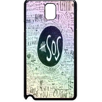 Colorful 5 Seconds Of Summer For Samsung Galaxy Note 3 Case ***