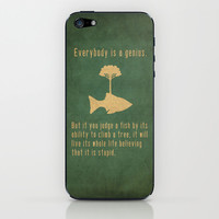 Einstein iPhone & iPod Skin | Print Shop