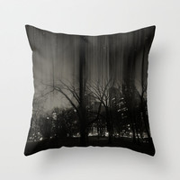 An Evening in Central Park, NYC Throw Pillow by Deepti Munshaw | Society6