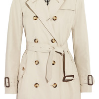 Burberry London | Mid-length gabardine trench coat | NET-A-PORTER.COM