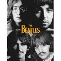 The Beatles Squares Poster