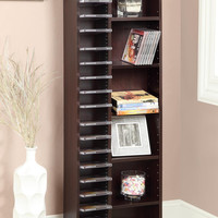 Michael Anthony Furniture CD/DVD Storage/Shelving Unit