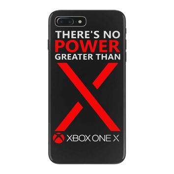 xbox one x – there's no power greater than x iPhone 7 Plus Case