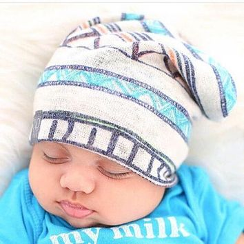 1 PC Lovely Winter Warm Newborn Baby Toddler Infant Printing Hos 881bfae14928