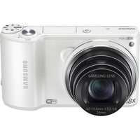 Samsung - WB250F 14.2-Megapixel Digital Camera - White