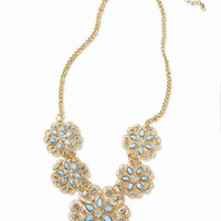 Erica Sky Blue Statement Necklace